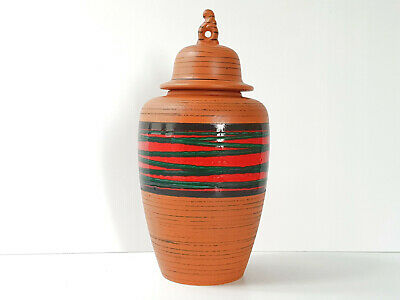 Vase Amphora German Ceramic West Germany 1960 Vintage 60s 60'S 60s