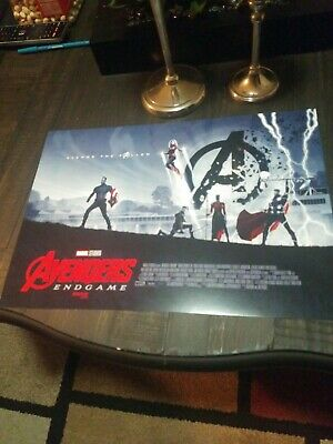 "AVENGERS ENDGAME AMC IMAX EXCLUSIVE POSTER 11"" x 15.5"" Week 2 Of 2"