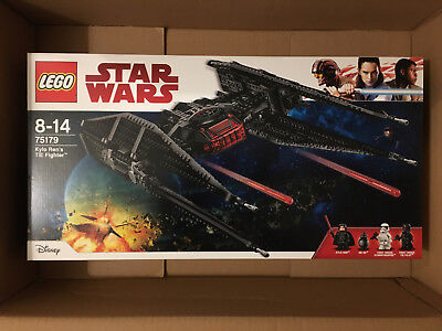 LEGO Star Wars Kylo Ren`s Tie Fighter 75179 NEU & OVP