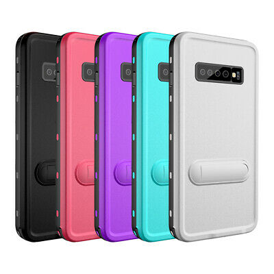Redpepper-Waterproof Shockproof Stand Case Cover for Samusng Galaxy S10 S10 Plus