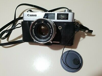 Canon Canonet QL17 35mm Rangefinder Film Camera