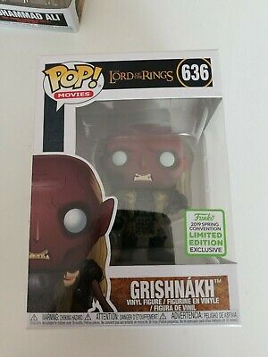 DAMAGED BOX - Funko POP ! Grishnakh 636 Lord of the rings -ECCC 2019