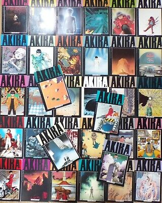 AKIRA  #1-#31 + #34-#36 1988 Manga  Epic Comics Marvel Collection of 34 Comics