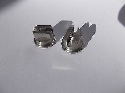 2 X CARPET CLEANING MACHINE TOOL WAND SPRAY NOZZLE JET TIPS  Size 110015 TEEJET