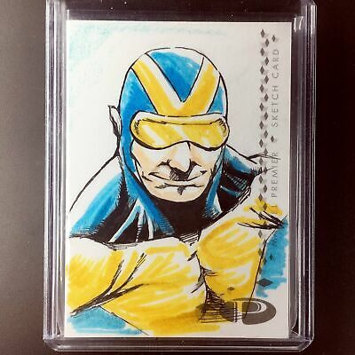 2017 Marvel Premier GOLIATH 2-Panel Booklet Sketch Brian Soriano 1/1