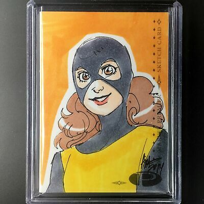 2014 Marvel Premier KITTY PRYDE 2-Panel Booklet Sketch Irma Ahmed 1/1