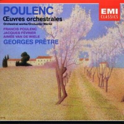 2-Cd Poulenc - Orchestral Works - Georges Pretre
