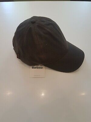 80d65951 Barbour Mens Wax Sports Cap Baseball Light Brown/khaki Waterproof One Size