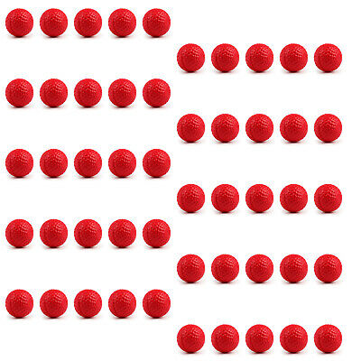 50PCS Round Refill Replace Bullet Balls Toy For Rival Apollo ZEUS Gun Red T3