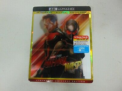 Ant-Man and the Wasp (4K Ultra HD + Blu-ray ) Marvel Movie