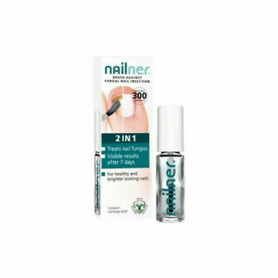 2 X Nailner Fungal Nail Infection 2IN1 Brush-5m (10ml total)