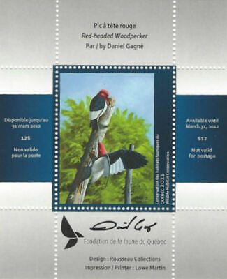 2011 Canada Quebec  Wildlife Habitat Conservation  -DQ65s    Mint NH