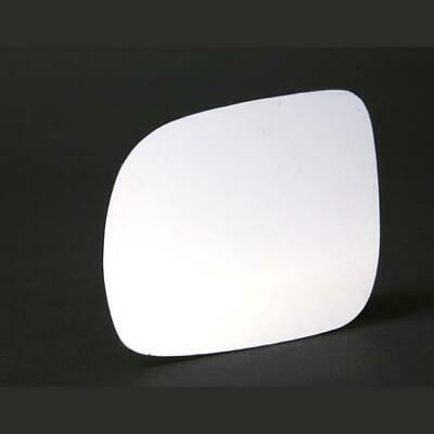 Right Driver side Wing door mirror glass for VW Polo 2002-2005 stick on
