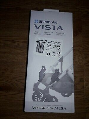 Uppababy Vista Lower Adapter Black For 2015 and later Models