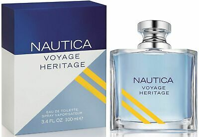 Nautica Voyage Heritage by Nautica cologne for men EDT 3.4 oz New In Box