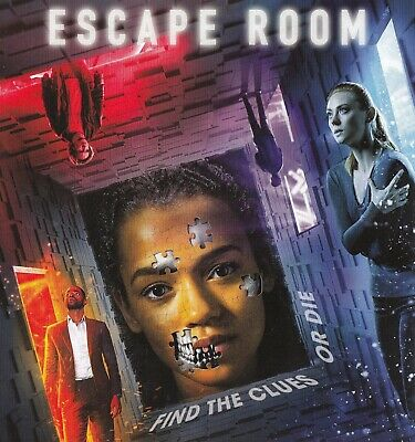 ESCAPE ROOM (Taylor Russell) Like New DVD From Combo Pack NEW RELEASE