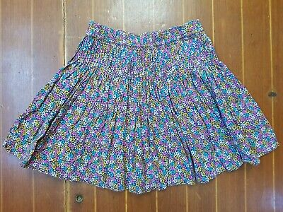 Lovely Floral Print Girls Skirt From Next Size 5
