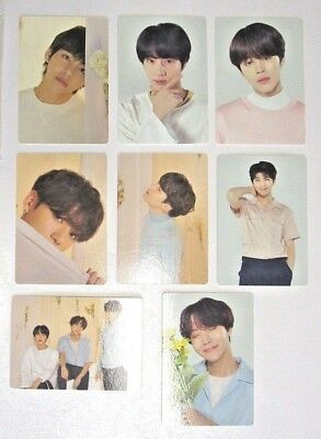 BTS Love Yourself World Tour Mini Photocards (Individual cards)