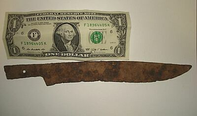 ONE OF A KIND!  Ancient Jerusalem Israel ROMAN LARGE DAGGER!   100AD