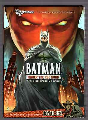 Batman:Under the Red Hood DVDSpecial Edition New DVDsTarget Exclusive/1-2 COMICS