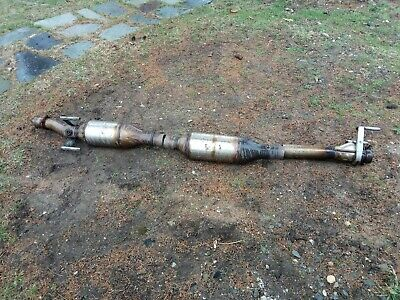 Used Clogged and cutted OEM Mercedes Sprinter Full Catalytic Converter 2016
