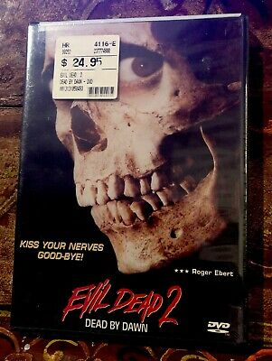 Evil Dead 2: Dead by Dawn NEW DVD Bruce Campbell Horror Classic SEALED
