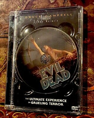 Sam Raimi's The Evil Dead DVD Picture Disc In Plastic Case OOP - Bruce Campbell