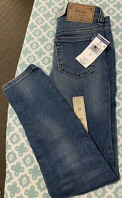 Ralph Lauren Girls Jeans Size 6X - New With Tags