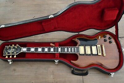 1979 Gibson SG Custom in Walnut with original hard case: great vintage guitar