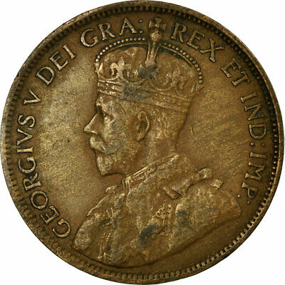 [#689604] Coin, Canada, George V, Cent, 1917, Royal Canadian Mint, Ottawa