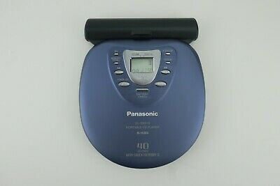 Panasonic SL-SX510 Portable CD Player 40Sec Anti-Shock w/External Battery System