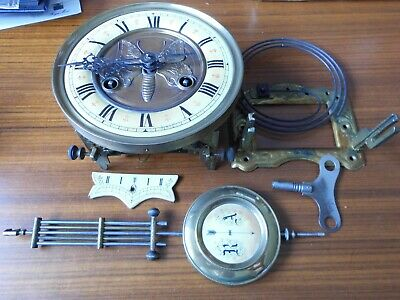 Old Wall Clock For Spares Or Repair