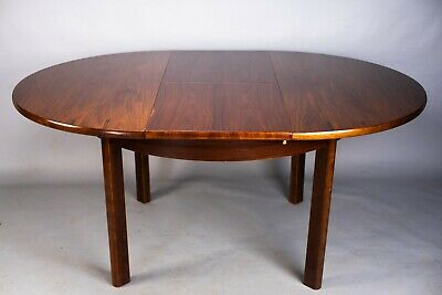 Vintage G-Plan rosewood extending dining table retro 60s 70s