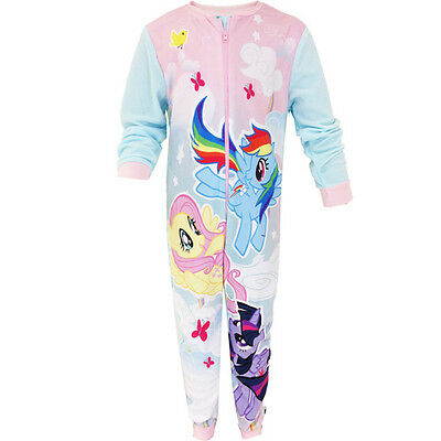 My Little Pony Girls all in one pyjamas 2 3 4   Years