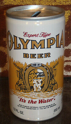 Olympia Bank Beer Can Olympia Brewing Olympia & St Paul Mn Recyclable Aluminum