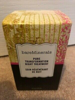 Bareminerals Pure Transformation Night Treatment In Clear NEW Sealed