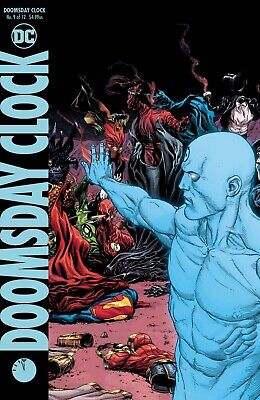 Doomsday Clock #9 Variant - Dc Comics