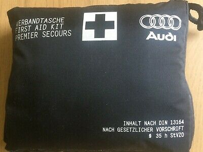 Genuine Audi In Car Compact First Aid Kit Sterile Date 06-2022 Q7 S3 A4 Q3 TT A6