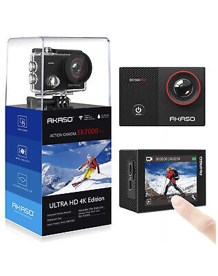 AKASO EK7000 Pro 4K Action Camera with Touch Screen EIS Adjustable View Angle