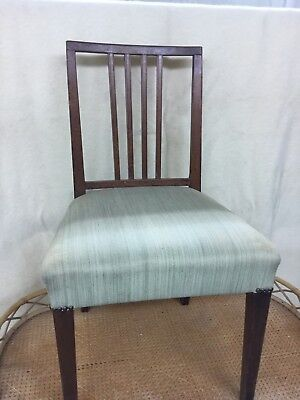 Vintage Antique Chairs,George III Sheraton ( Style )Pair of Oak ??chairs