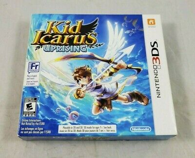 Kid Icarus: Uprising (Nintendo 3DS, 2012) Complete in Box CIB, W/ Stand