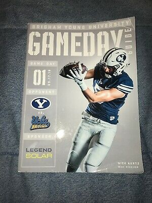 2016 BYU VS. UCLA Collage Football Game Program Cougars Utah Los Angeles Bruins
