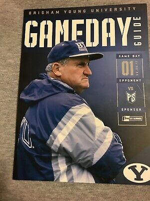 2017 BYU VS. Portland St. Collage Football Game Program Cougars Utah Lavell