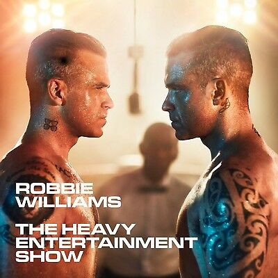 Robbie Williams - The Heavy Entertainment Show (Deluxe)   Cd+Dvd New