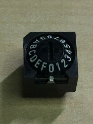 OMRON Rotary DIP Switch A6A-16R, Cone type