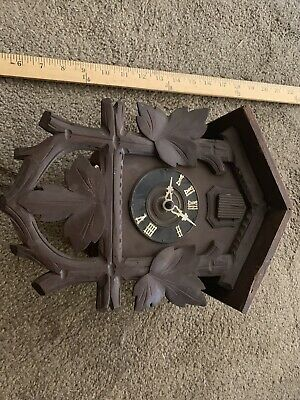 Antique  German Cuckoo Clock   Black Forest Cuckoo Clock
