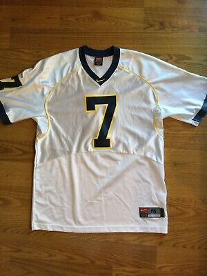 competitive price ddca9 ee3f0 VTG NIKE AUTHENTIC University Of Michigan # 7 Football Jersey Henson Henne  Med