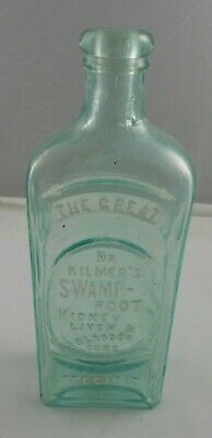 Vtg Dr Kilmer's Swamp Root Kidney Liver Bladder Cure Bottle Quack Medicine era