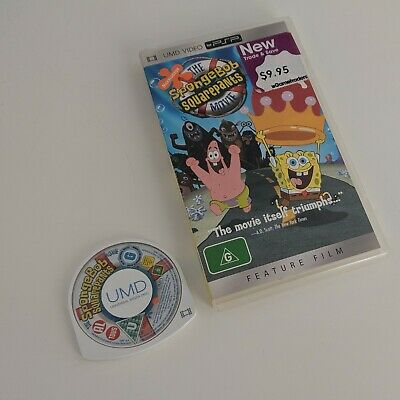 The Spongebob Squarepants Movie - Sony Playstation Psp Portable Movie Umd