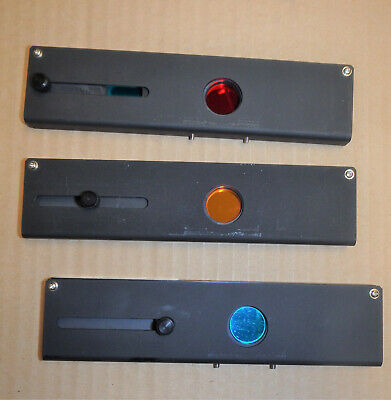 Leitz Microscope Dichroic Filter Sliders -  SEE subject description area
